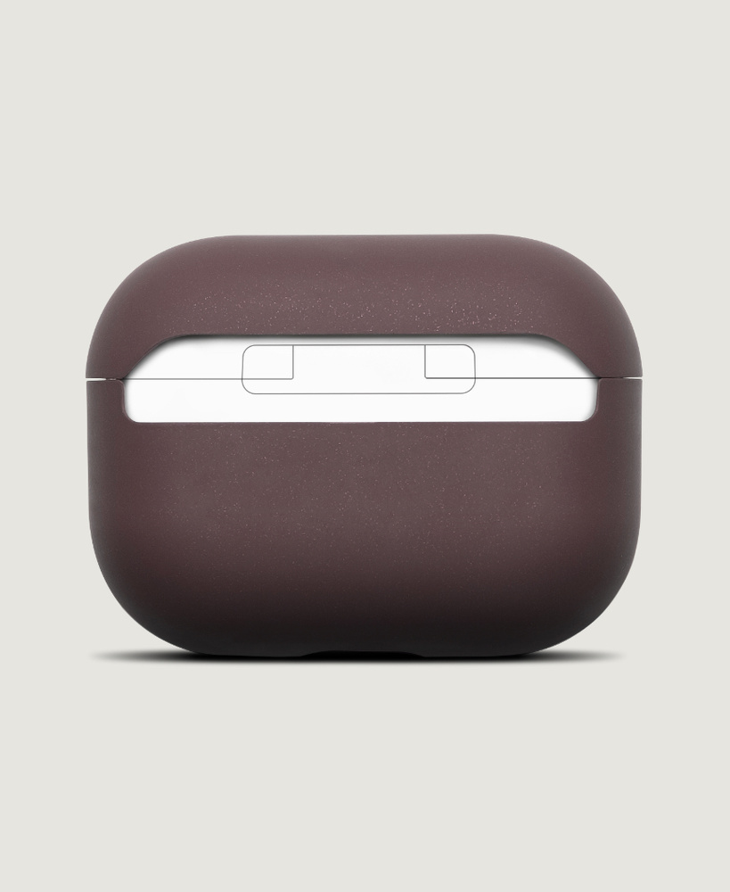 AirPods Pro Case Sangria Red